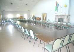 Table Seating St. Timothy Center