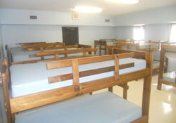 Bunk Beds at St. Timothy Center