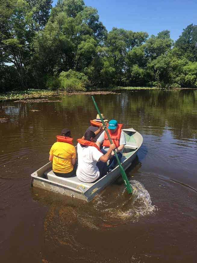 Camp Sharing Meadows Boating